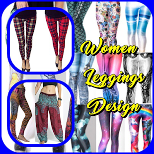 Women Leggingns Design - náhled