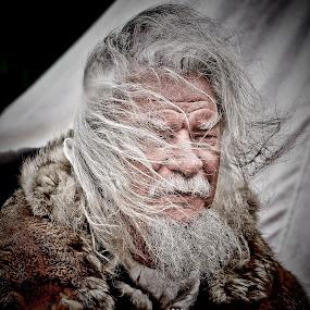 by Derek Tomkins - People Portraits of Men ( senior citizen )