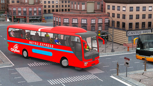 City Traffic Racer: Extreme Bus Driving games 1.0.1 screenshots 2