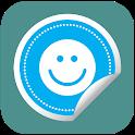 استیکر واتساپ و تلگرام ( استیکرساز ) icon