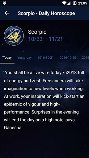Daily Horoscope app (apk) free download for Android/PC/Windows screenshot