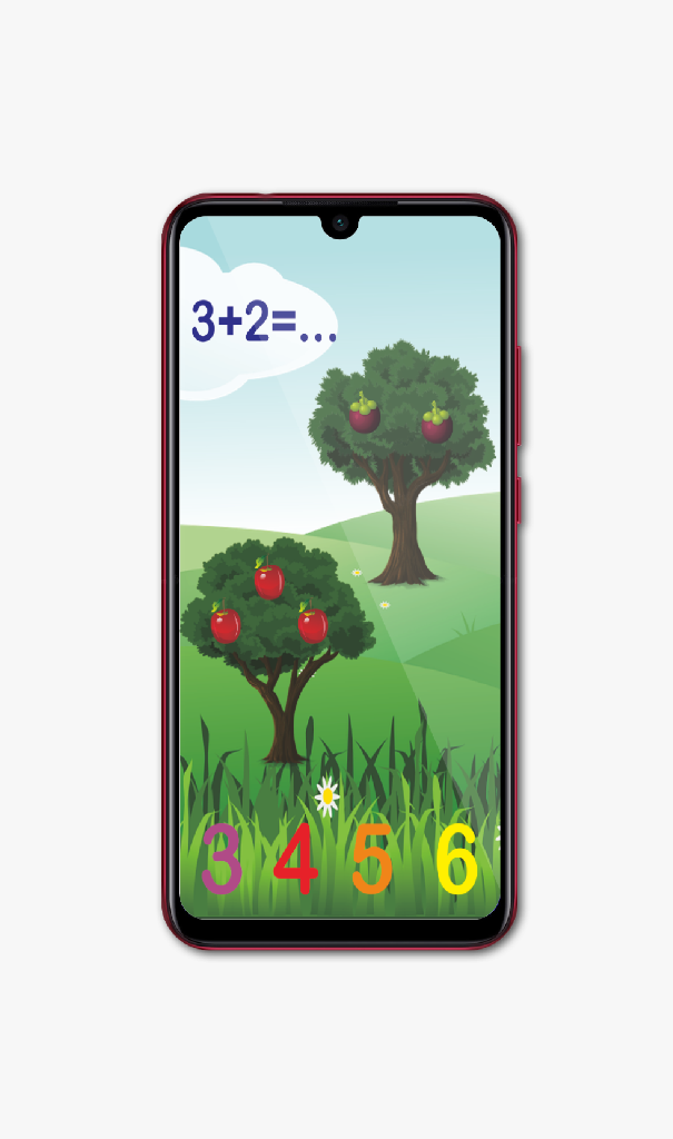 Скриншот Kids Numbers and Math Plus