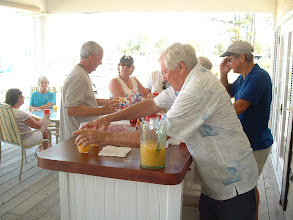 Photo: The bar tenders stayed busy.