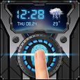Fingerprint Lock Wheel Gear Prank