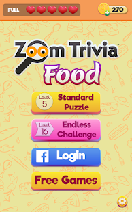 Zoom Trivia - Food Edition- screenshot thumbnail