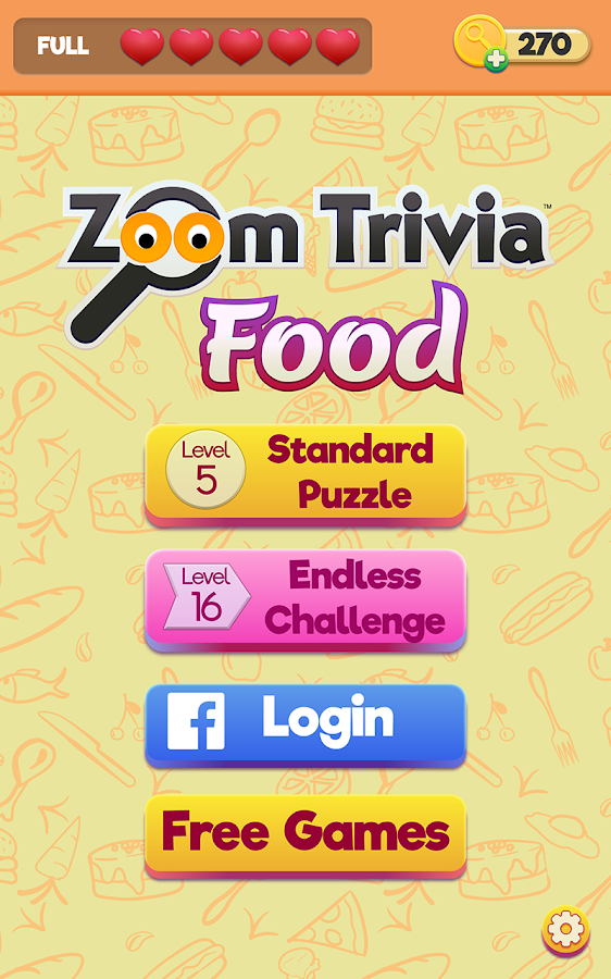 Zoom Trivia - Food Edition- screenshot