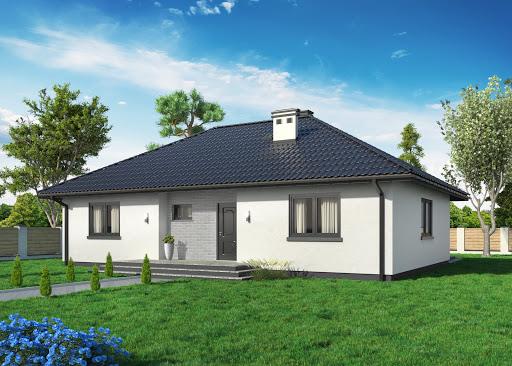 projekt Domek Mokka 053 ES