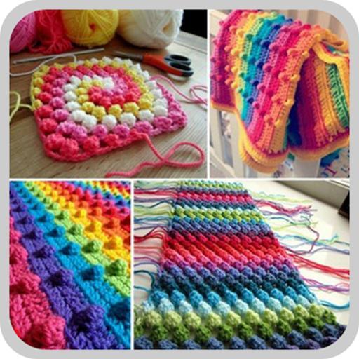 Design Pattern Crochet Blanket