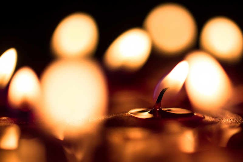 Photo: #project52 #2012project52  [10/52 - Depth Of Field] This theme was quite broad, but I wanted to go with the mix of a front and back bokeh. To do so... I felt like candles were pretty logical ;).