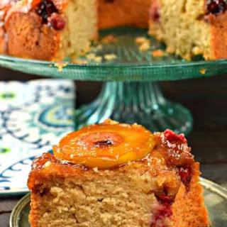 Apple Cranberry Upside Down Bundt Cake Recipe