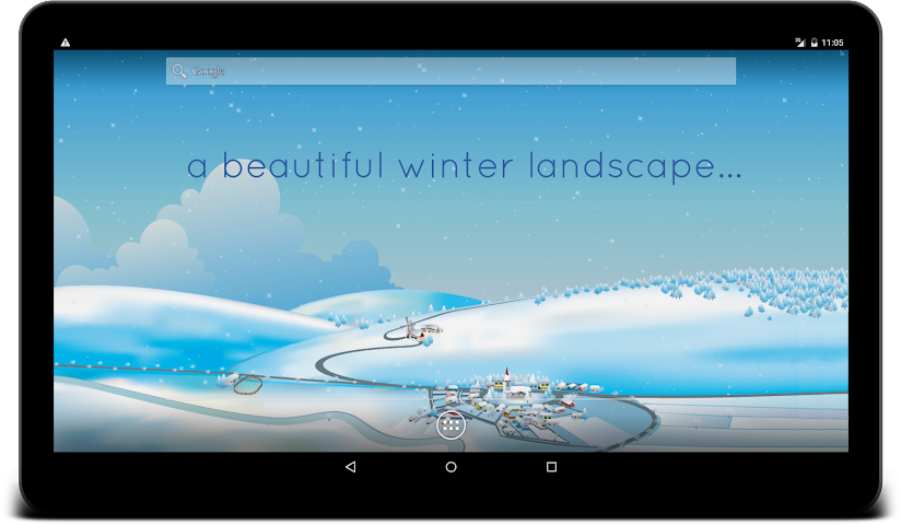 android Winter Live Wallpaper Screenshot 6