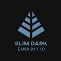 Slim Dark EMUI 9.1/10 Theme for Huawei/Honor icon