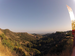 Photo: View of the valley, Hollywood