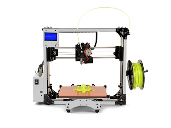 Limited Edition WHITE LulzBot TAZ 5 Open Source 3D Printer