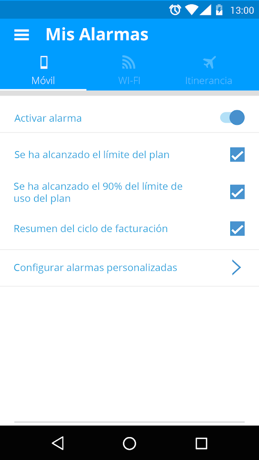My Data Manager: captura de pantalla