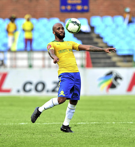 Oupa Manyisa of Mamelodi Sundowns.