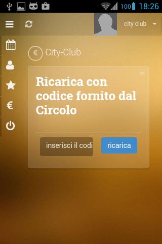 Prenota Campi- screenshot