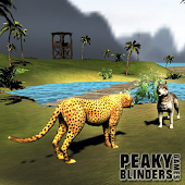 Lion vs Tiger Cheetah Animal Simulation