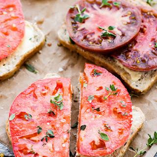 Heirloom Tomato Sandwich.