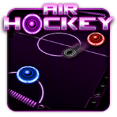 Glow Air Hockey: Classic