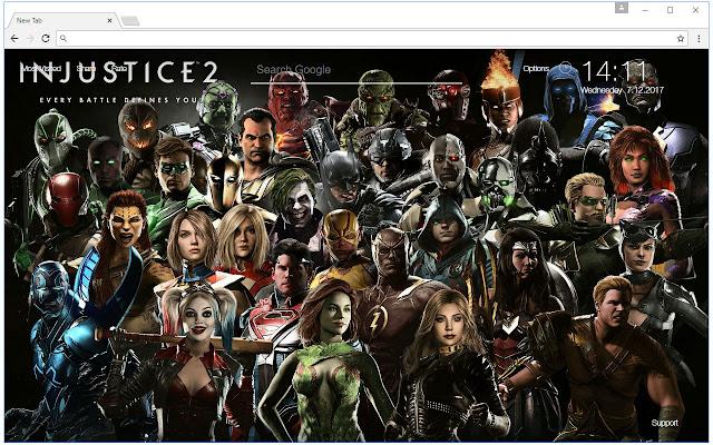 Injustice 2 Wallpaper Hd New Tab Themes