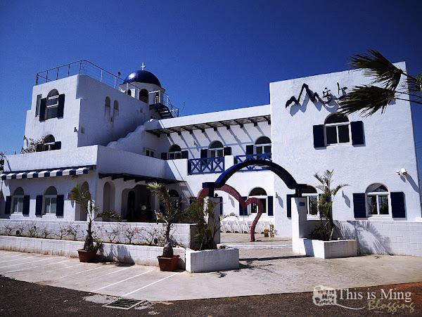 山丘上景觀咖啡館~在地中海白牆裡來份下午茶吧!