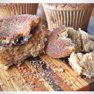 Jumbo Cinnamon Coffee Cake Muffins.