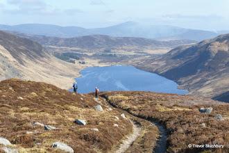 Photo: On Shank of Inchgrundle above Loch Lee, Glen Esk