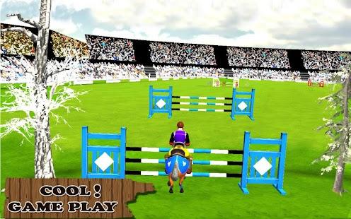 kůň jezdectví A & skákání show: simulátoru - náhled