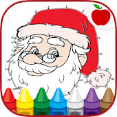 Christmas Coloring Dots Games