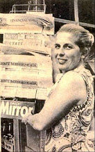 Photo: Diane Outram  Wateringbury Bow General Stores 1971