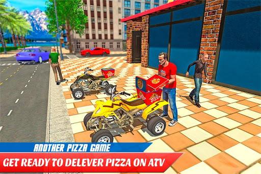 ATV Pizza Delivery Boy apkmr screenshots 1