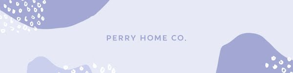 Perry Home Co. - Etsy Shop Big Banner Template