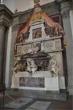 Photo: Florence - Santa Croce, Michelangelo's tomb