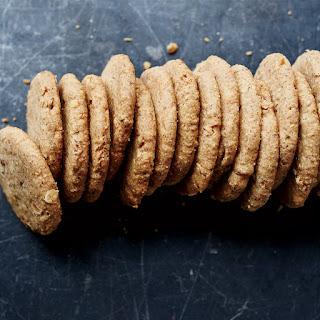 Almond Shortbread Cookies.