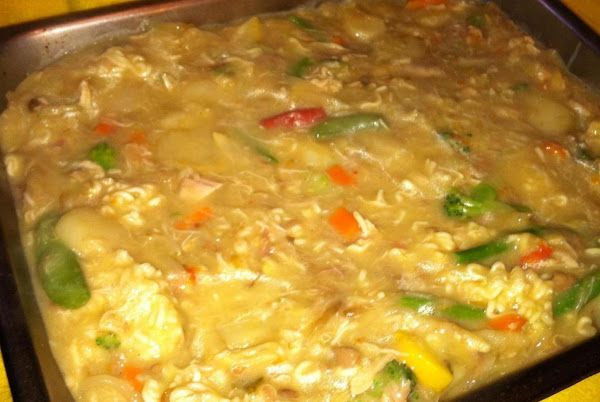 Funeral Chicken And Rice Casserole Recipe