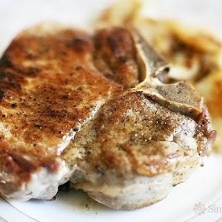 Mom's Perfect Pork Chops.
