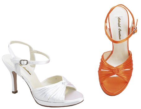 bridal shoes, slingbacks, nina shoes, dyeables shoes