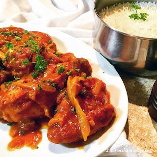 Creamy Coconut Chicken Curry.