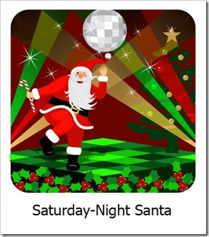 Saturday-Night Santa