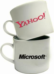 Yahoo & Microsoft Mugs