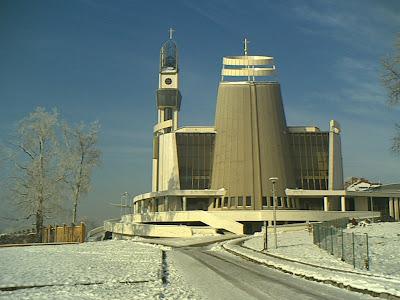 Sanktuarium Miłosierdzia Bożego - Łagiewniki