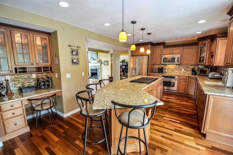 Wyspę kuchenną można dopasować do każdego stylu wnętrza