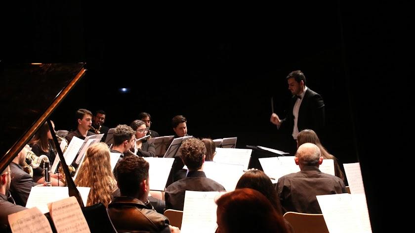 Un momento del concierto del sábado en el festival de Vera.