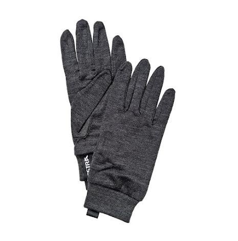 Merino Wool Liner Active 5-Fingerhandske Koks