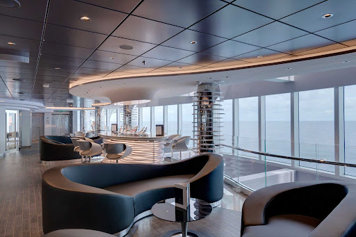 msc-seaview-champagne-bar.jpg -  Visit the 94-seat Champagne Bar on MSC Seaview for a cool drink and tasty appetizers.