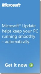 Microsoft update - nonsense