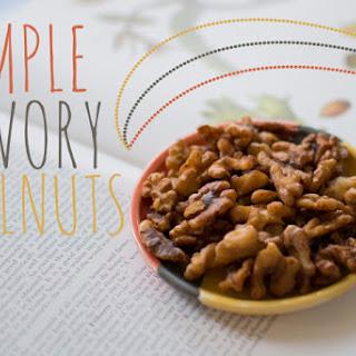 Simple Savory Walnuts.