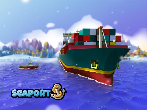 Sea Port: Build Town & Ship Cargo in Strategy Sim screenshots 11