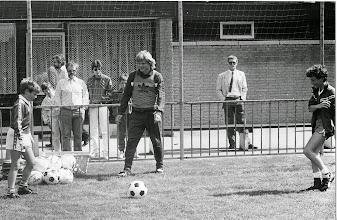 Photo: Bayern München traint bij H.M.S.H.